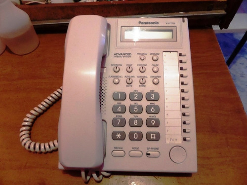 telefono unilinea panasonic kx t7730