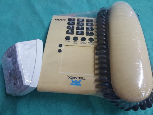 teléfono vintage analógico euroset 805 p de telmex
