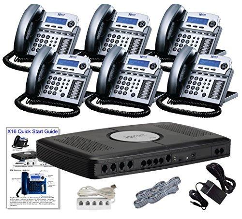 teléfono x166-line pequeña oficina telefonía