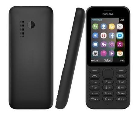 telefonos celular nokia 215 pantalla grande doble sim libera