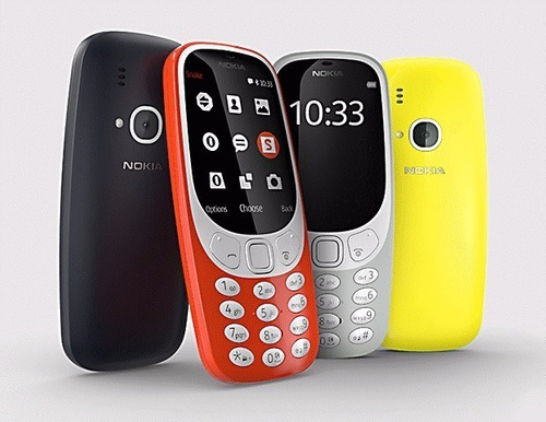 telefonos celular nokia 3310 doble sim liberado camara