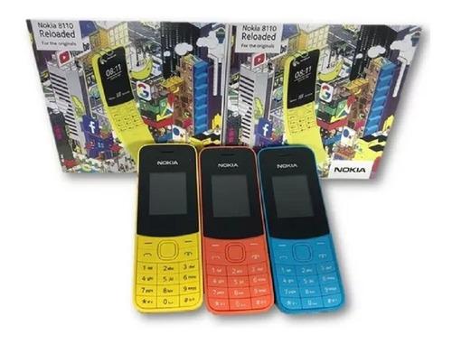 teléfonos celular nokia 8110 doble sim liberado mp3 camara