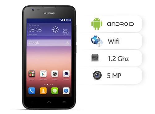 teléfonos  huawei ltg y560/8gb/4g lte/camara5mp/dual sim pan