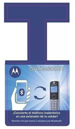 teléfonos inalámbricos motorola bluetooth conexion 2 celular