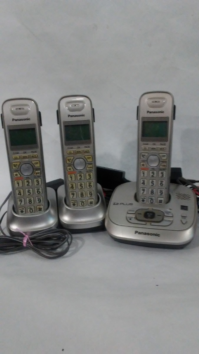 8b7aa81e9b6 Teléfonos Inalambricos Panasonic 2 Auxiliares Usados - Bs. 45.000,00 ...