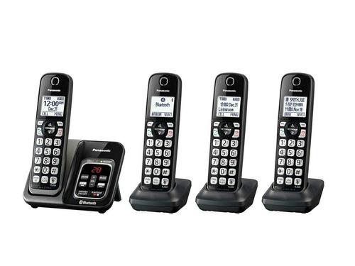 teléfonos inalámbricos panasonic link2cell bluetooth digital
