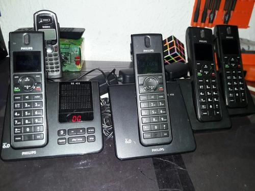 teléfonos inalámbricos phillips se 455