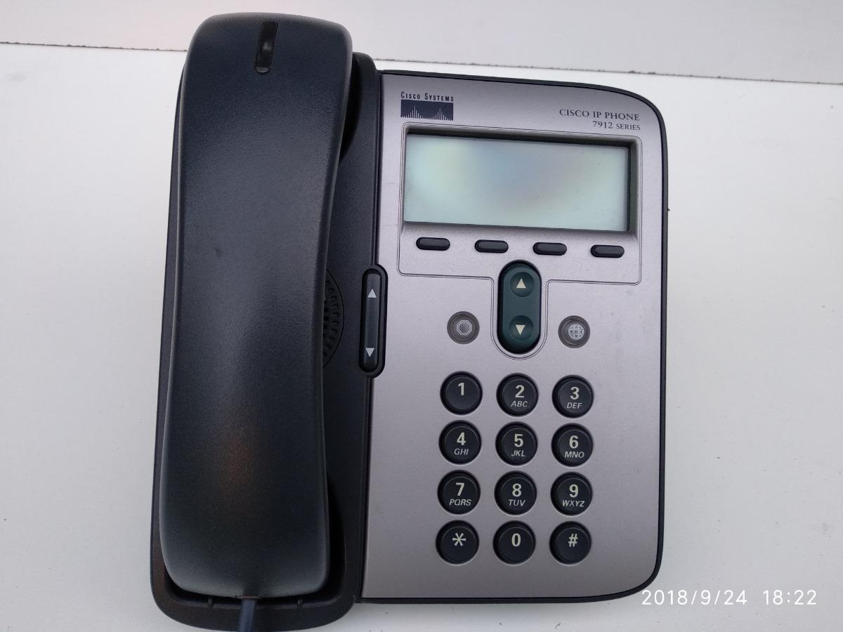 Telefonos Ip Cisco 7912g Sccp / Sip Asterisk Como Nuevos - $ 690,00