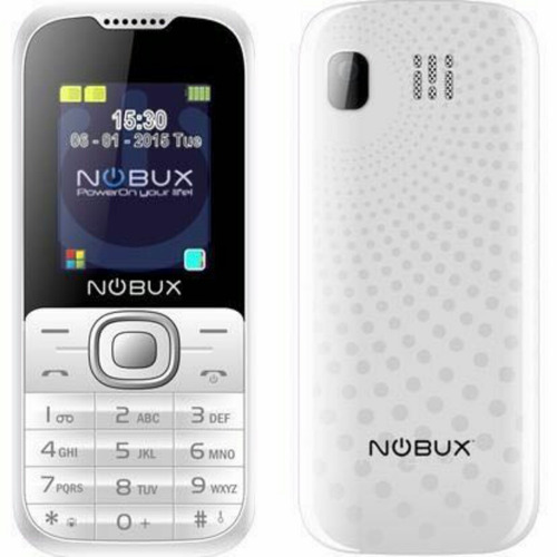 teléfonos nobux  blast doble sim / liberado