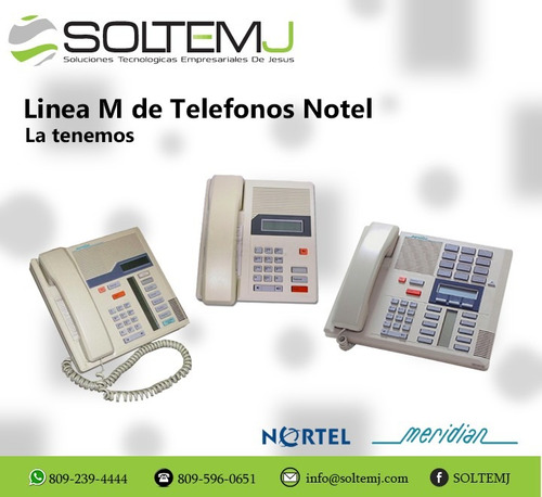 telefonos nortel m 7208 m7100 m7310, soltemj