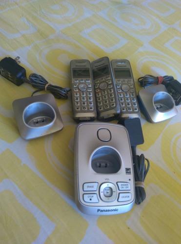 telefonos panasonic con su central