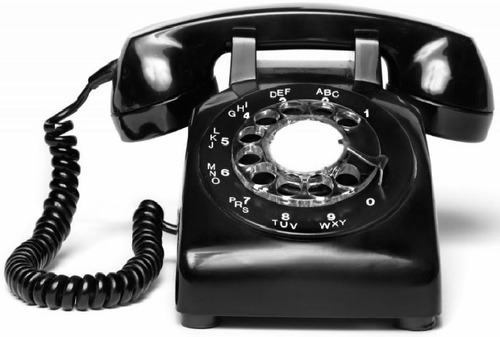 telefonos western electric con discos de marcar de baquelita
