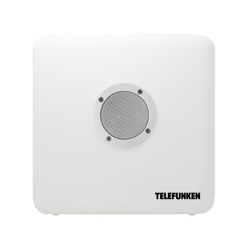 telefunken bocina bluetooth led change 30x30x30cm