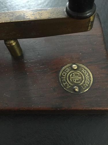 telégrafo liverpol de antigua estación de ferrocarri
