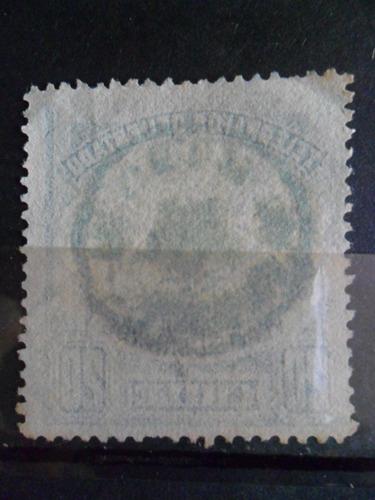 telegrafos 20 centavos huemul con cola