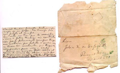 telegrama república argentina de1925 + esquela y sobre p/col