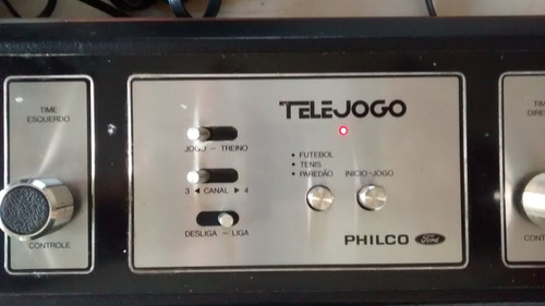 telejogo philco console video game tele jogo game antigo