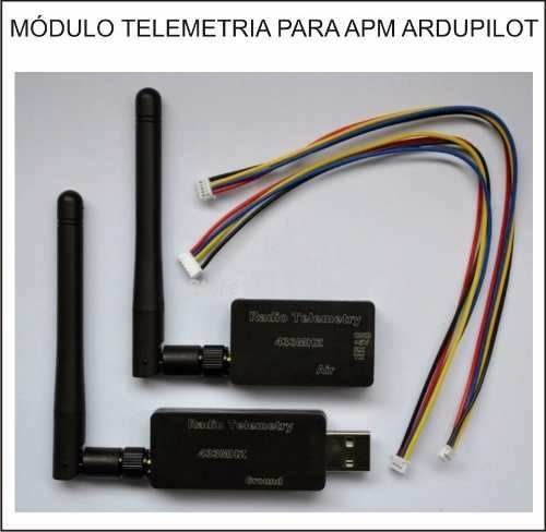 telemetria 3dr apm 2.5 2.6 2.8 pixhawk case 433mhz drone