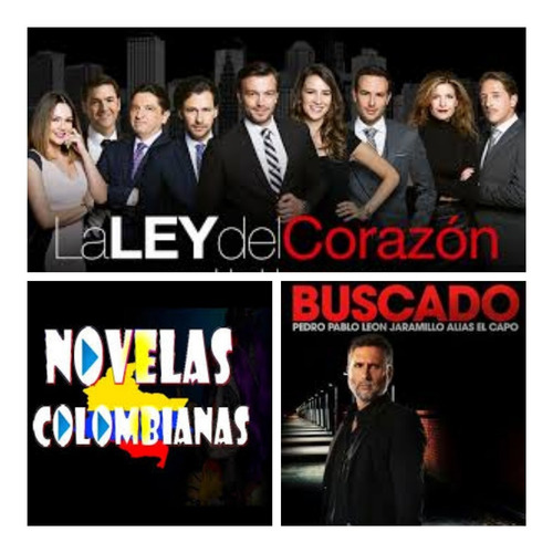 telenovelas series colombianas completas full hd combos de 6