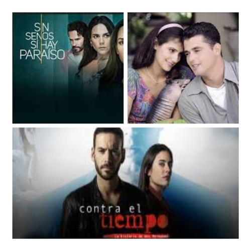 telenovelas series colombianas en full hd combo de 5 series