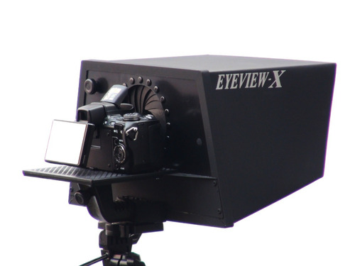 teleprompter eyeview-x com controle remoto universal