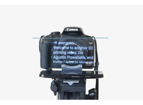 teleprompter portátil -tripé p/ smartphone - youtubers