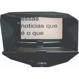 Teleprompter Profissional Compacto P/ Tablete/monitor/celula