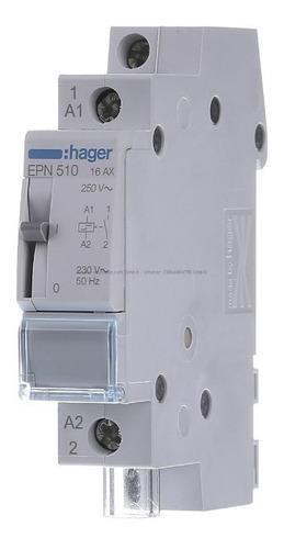 telerruptor hager eps10/236510   230vac x 16a