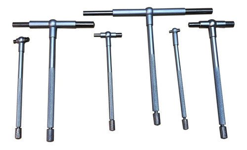 telescopines 8-150mm 5/16-6 set 6 pcs - isard