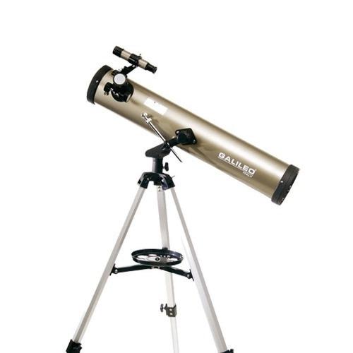 telescopio 700x76 reflector astronómico galileo nuevo s/caja