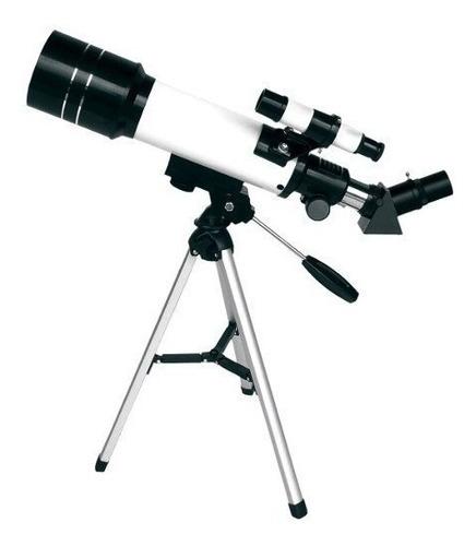 telescópio 70mm tripé f400 70m csr 12x s/ juros frete