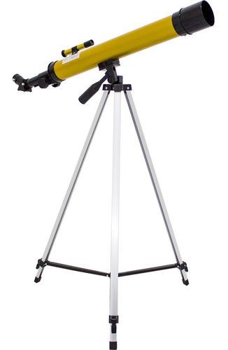 telescopio astronomico refrator até 100x - envio express