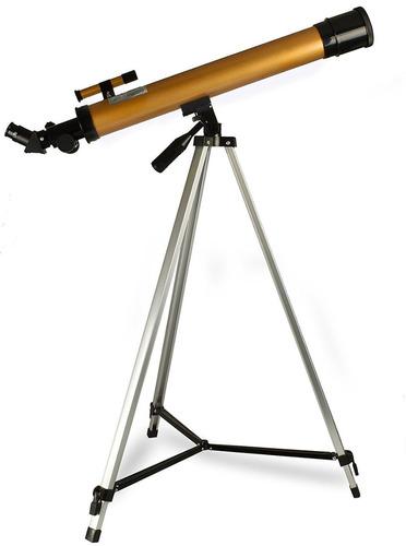 telescopio astronomico refrator profissional 50/100x complet
