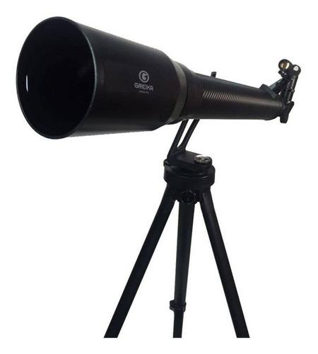 telescópio azimutal refrator com tripé e acessórios  700x70m