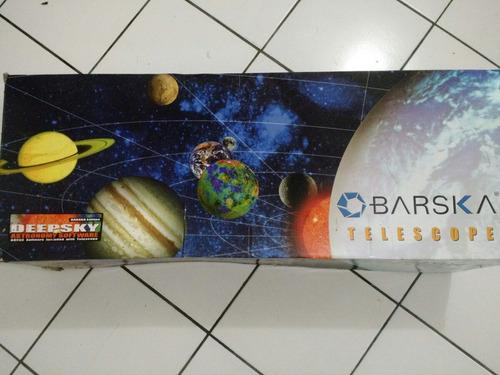 telescópio barska 900114, 4,5  refletor starwatcher com trip