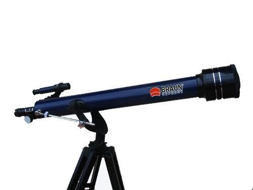 telescopio braun 98 aztl 675 x altazimutal 3 oculares