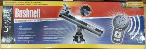 telescopio bushnell voyager sky tour 76mm x 700mm  78-9930