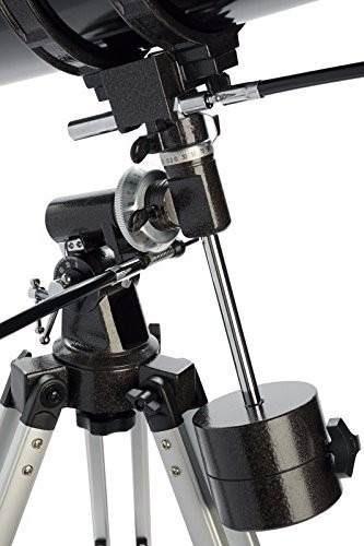 telescopio celestron 127eq powerseeker ecuatorial reflector