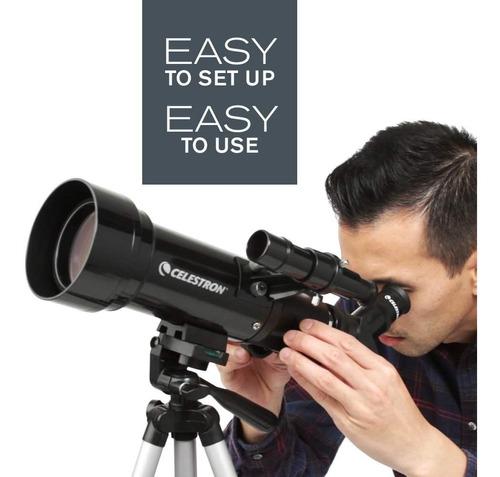 telescopio celestron 70mm travel scope 70 portable tripode