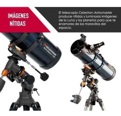 telescopio celestron astromaster 130eq nuevo envio gratis