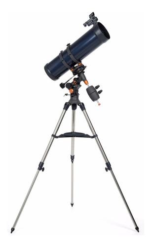 telescopio celestron astromaster 130x650 montura ecuatorial