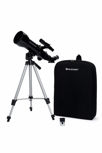 telescopio celestron travel scope 70 21035 terrestre