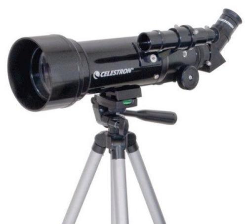 telescopio celestron travel scope 70 mochila 400x70 21035