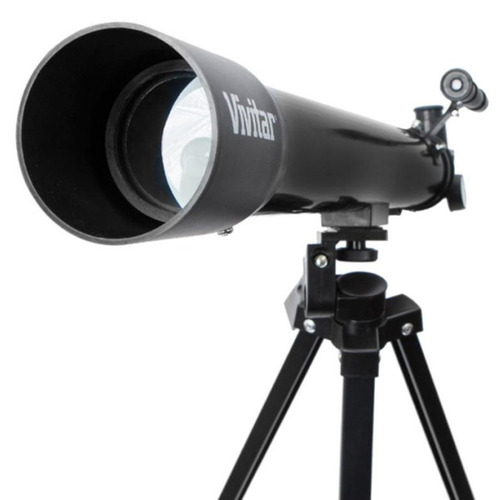 telescópio com ampliação 75x/150x vivitar vivtel150x + tripé
