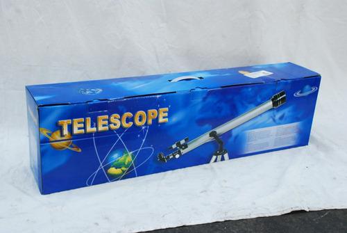 telescopio con tripie de aluminio junior 90x mod.1841 ecom