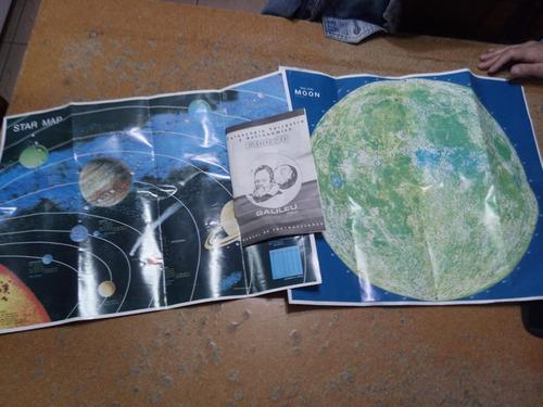 telescopio f400x70 galieo. set completo estuche original