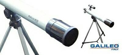 telescopio galileo f600x50 refractor astronómico soft gtia