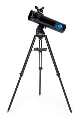 telescopio goto wifi celestron astrofi130+adap foto celular