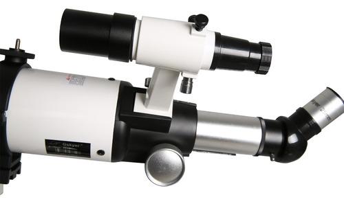 telescopio gskyer, telescopio astronómico refractor az de 60
