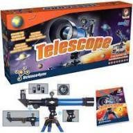 telescópio infantil - science4you@